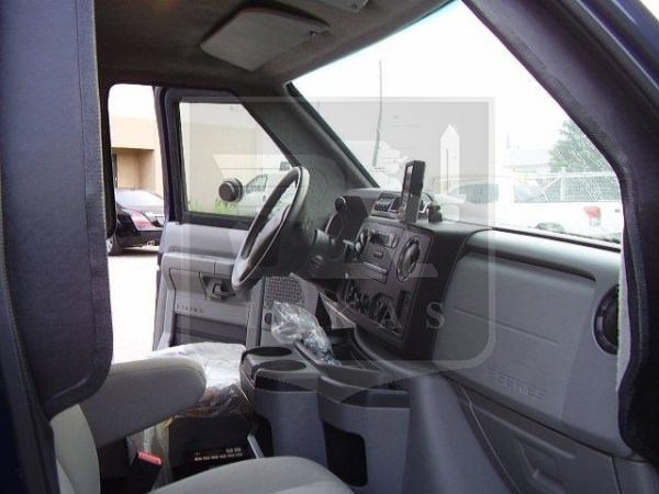 Armored Ford E350 SWAT Vehicle Front Cabin