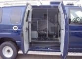 Armored Ford E350 SWAT Vehicle Side Door