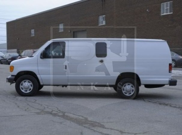 Armored Ford E350 Truck by INKAS Side View