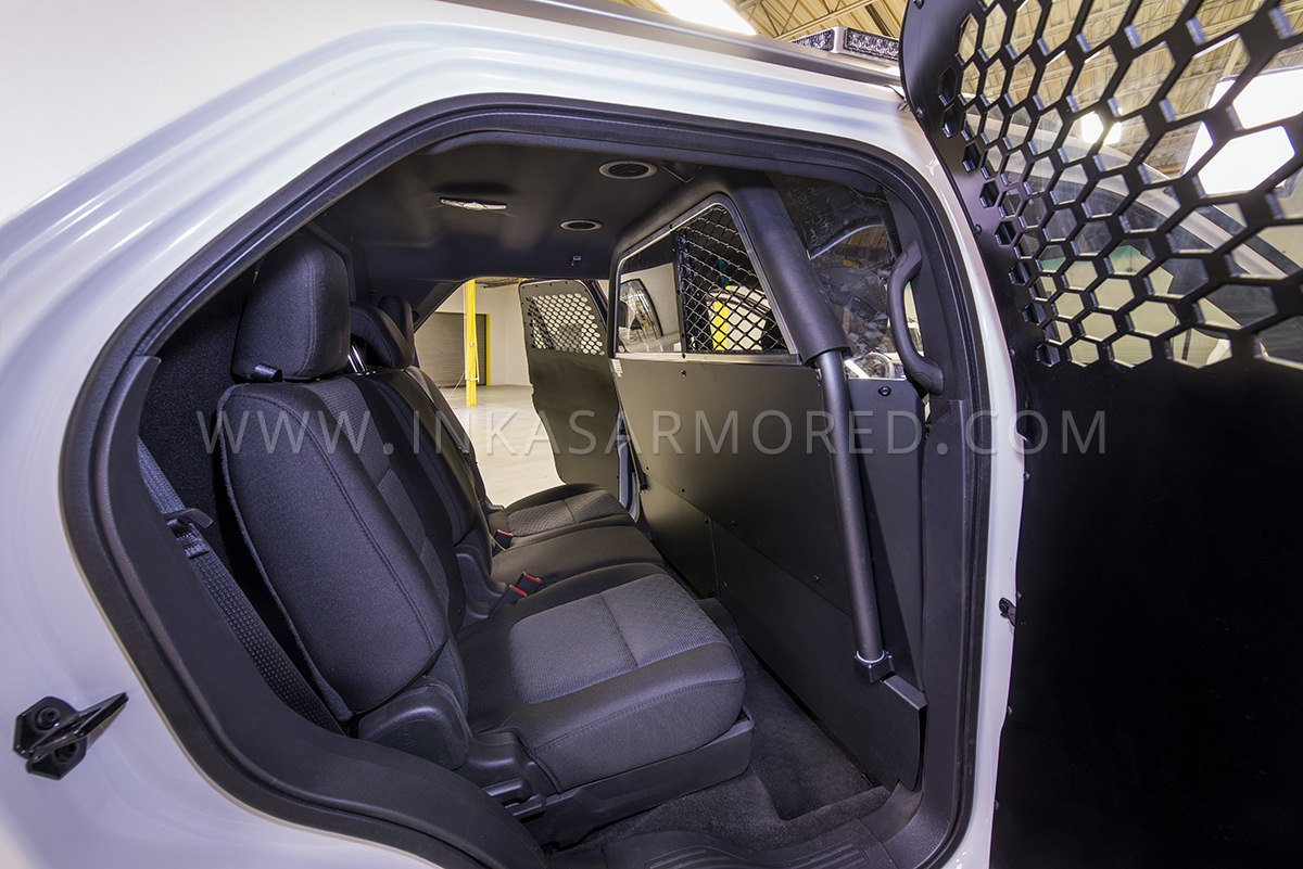 Ford Explorer Police Cruiser Interior