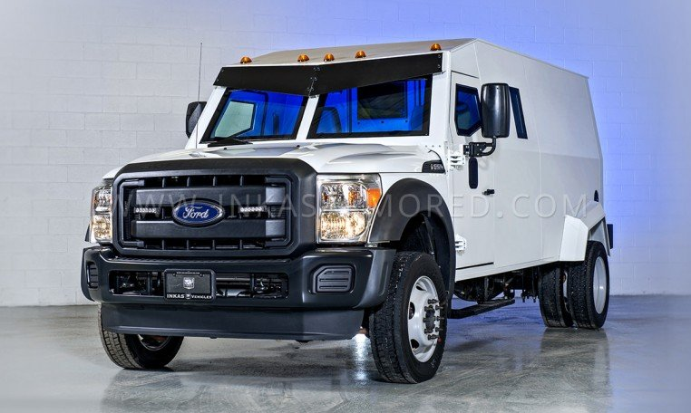 Armored Ford F550 Cash-In-Transit Vehicle