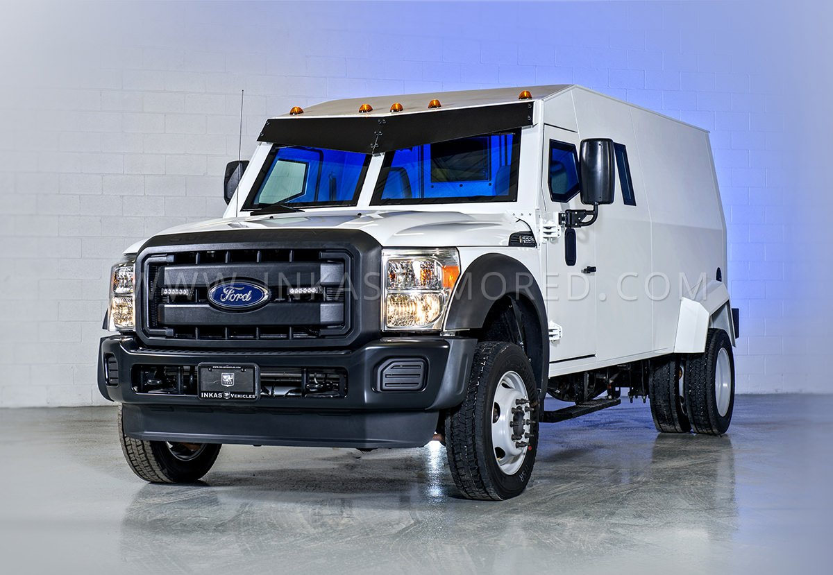 Armored ford f550 cash in transit vehicle