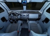 Armored Ford F550 CIT Vehicle Front Cabin