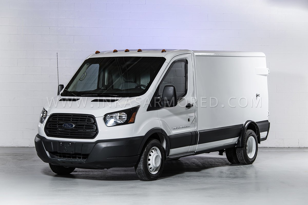 Armored ford transit cash in transit vehicle inkas