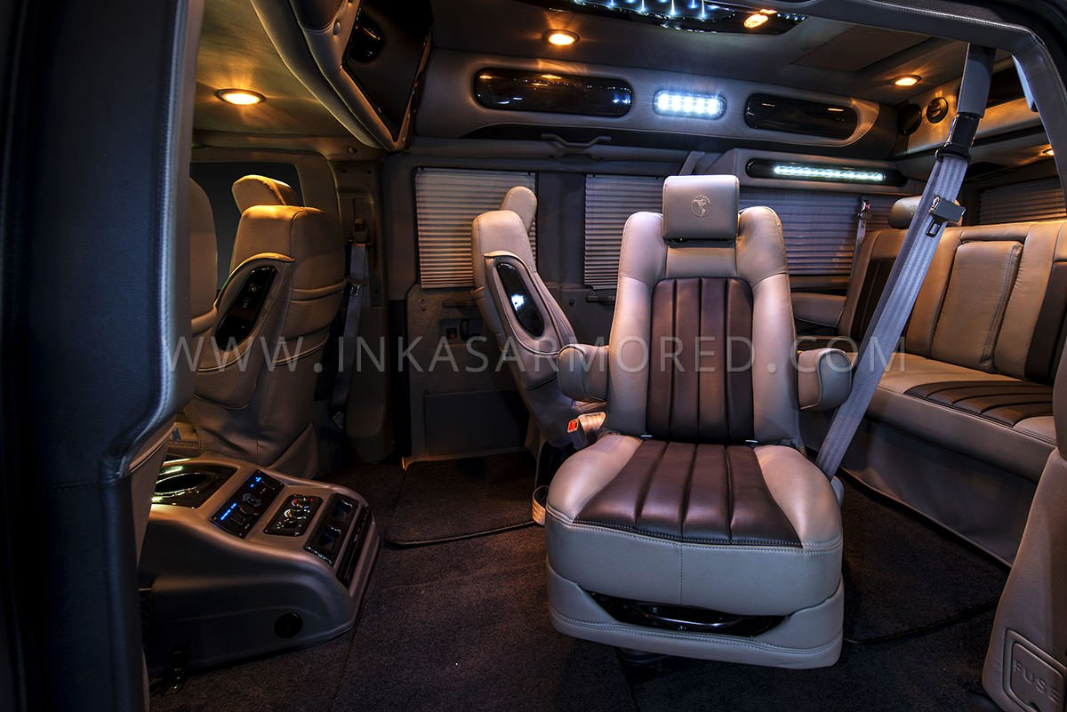 Gmc Savana Armored Limousine For Sale Inkas Armored Vehicles Bulletproof Cars Special Purpose Vehicles