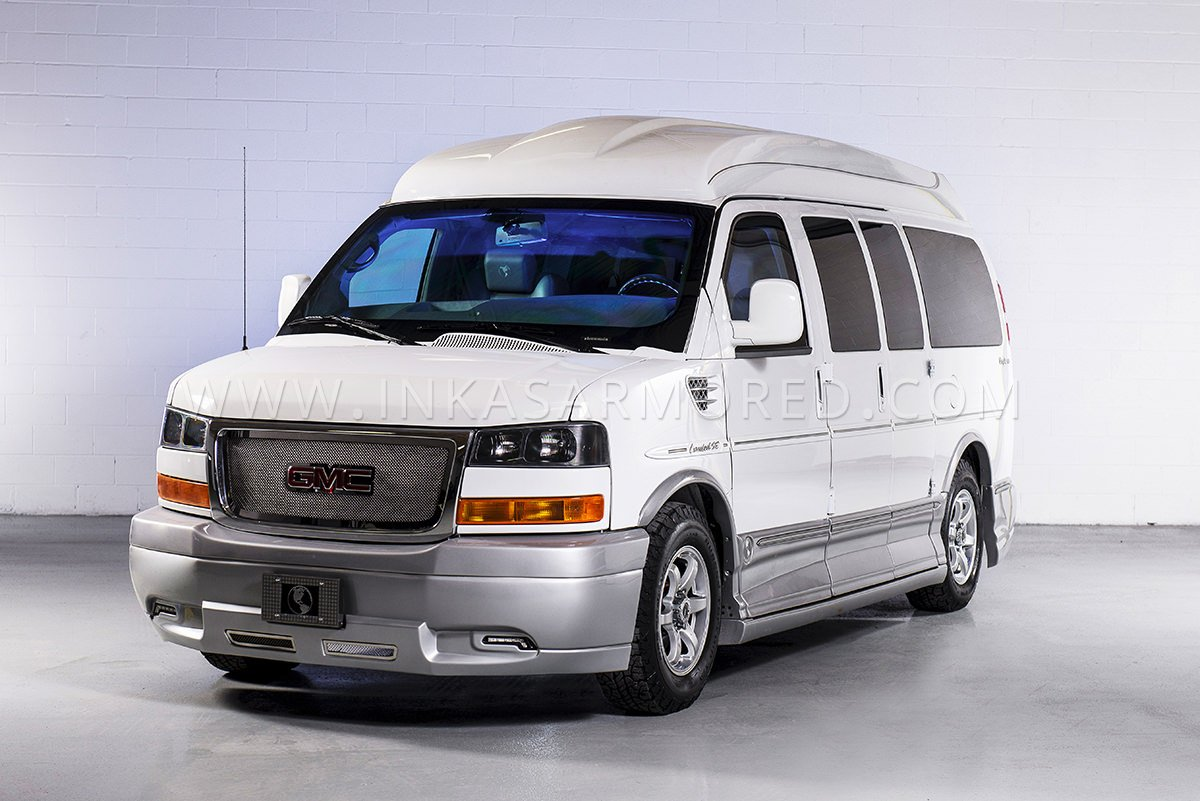 GMC Savana Armored Limousine For Sale - INKAS Armored ...
