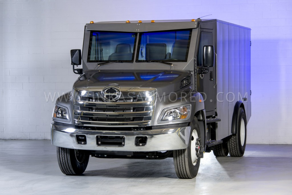 Armored Hino 338 Cash In Transit Truck