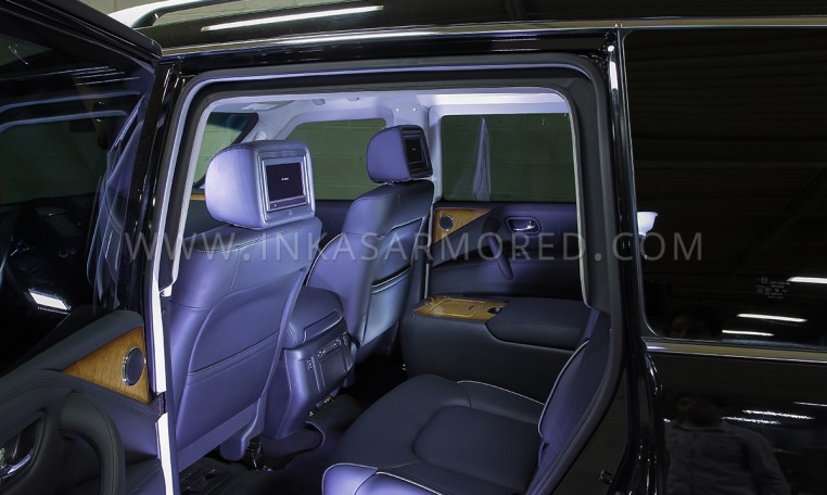 Armored SUV Interior