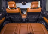 Armored Jeep Grand Cherokee Rear Seats
