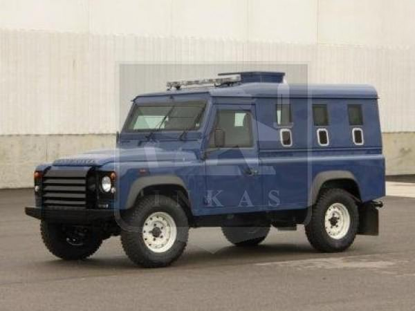 Armored Land Rover Def
