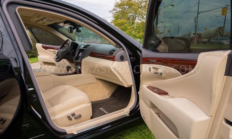 Armored Lexus LS 460 Passenger