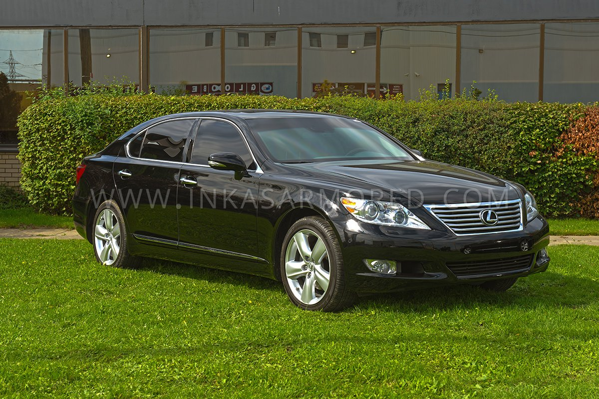 armored lexus ls 460l for sale inkas armored vehicles bulletproof cars special purpose vehicles. Black Bedroom Furniture Sets. Home Design Ideas