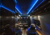 Armored MB Sprinter Custom Limo Interior