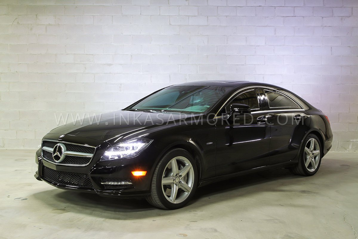 armored mercedes benz cls class for sale inkas armored vehicles bulletproof cars special. Black Bedroom Furniture Sets. Home Design Ideas