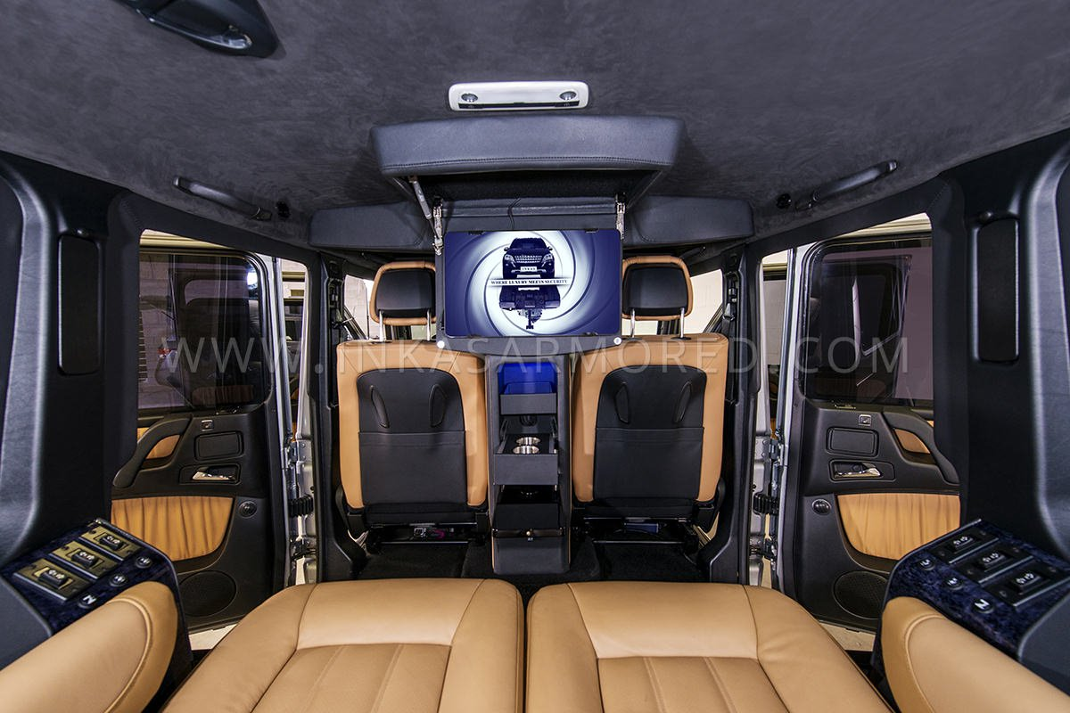 Armored Mercedes Benz G Class For Sale Inkas Armored