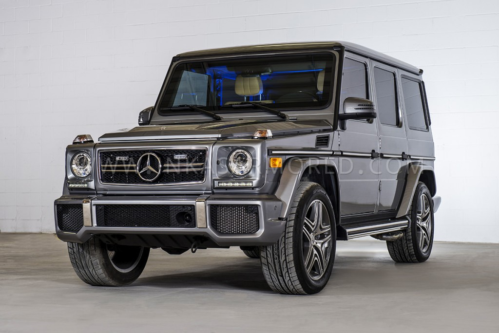 Armored Mercedes-Benz G63 AMG SUV