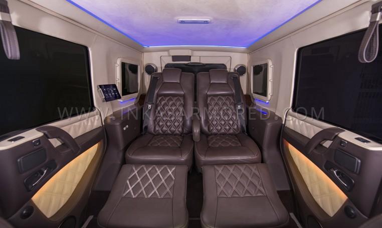 Armored Mercedes-Benz G63 Captain Seats