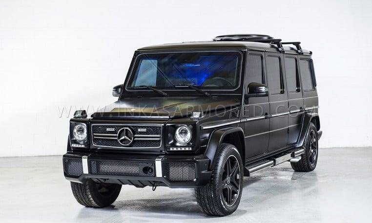 Armored Mercedes-Benz G63 Limousine Conversion