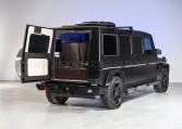 Armored Mercedes-Benz G63 Limousine Rear Bulkhead