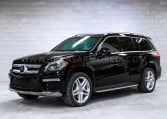 Armored Mercedes-Benz GL-Class SUV