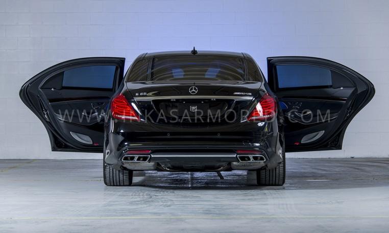 Armored Mercedes-Benz S-Class