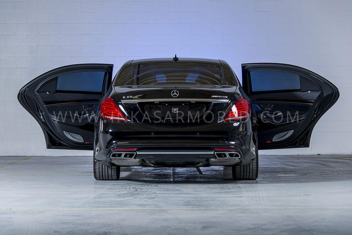Armored mercedes benz auto express for Mercedes benz armored