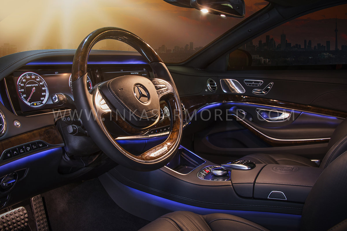 ... Armored Mercedes Benz S65 AMG Interior ...