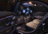 Armored Mercedes-Benz S65 AMG Rear Seats