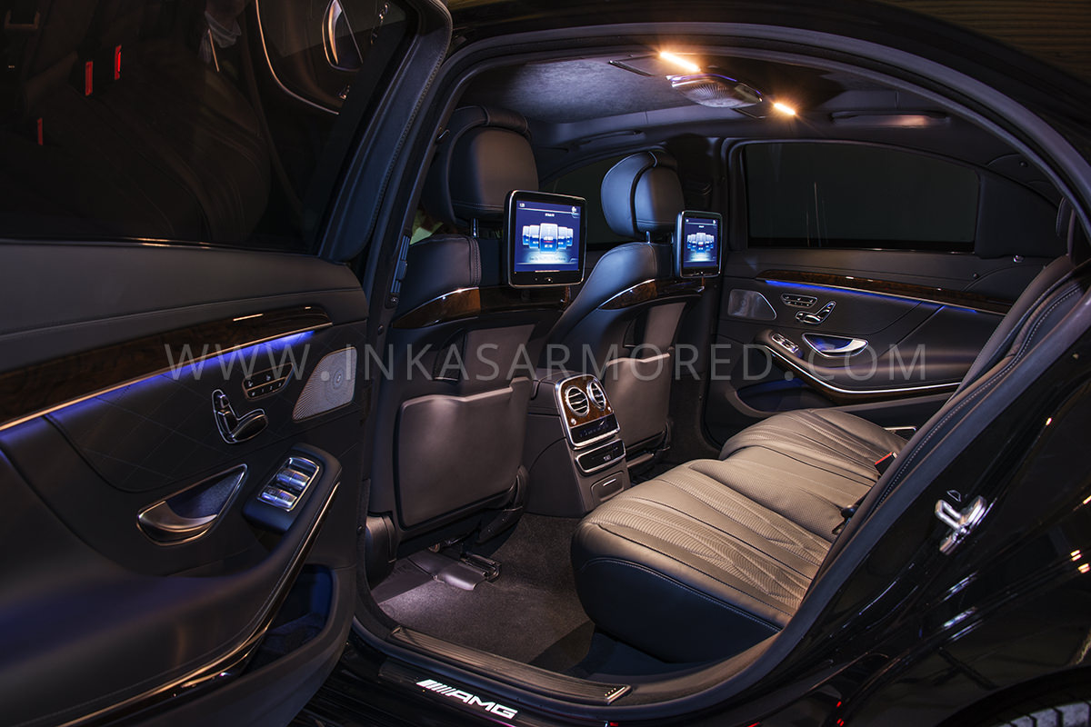 Armored MercedesBenz S550 For Sale  INKAS Armored Vehicles