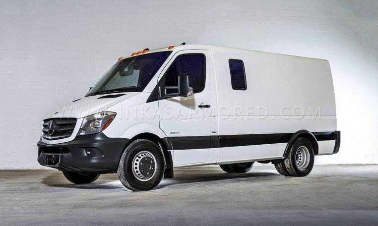Armored Mercedes-Benz Sprinter Cash In Transit Vehicle