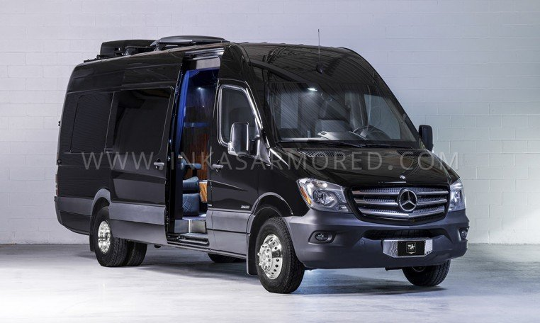 Armored Mercedes-Benz Sprinter Limousine