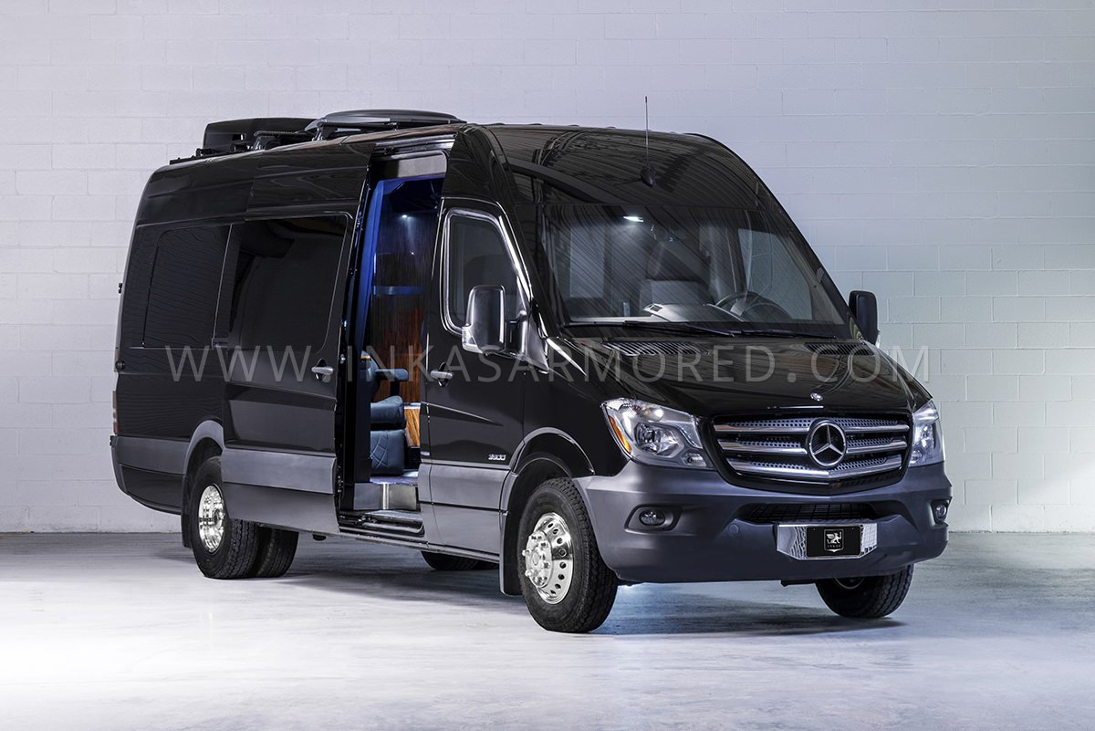 f8fbac4675 Mercedes-Benz Sprinter Armored Limousine For Sale - INKAS Armored ...
