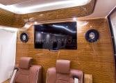 Armored Mercedes Sprinter TV and Speaker system