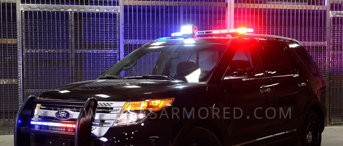 Armored Police Ford Explorer