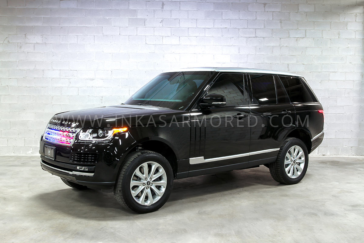 Armored Vehicles For Sale >> Luxury, Safety, and Power: the INKAS® Armored Range Rover ...