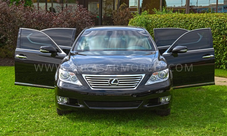 Armored Sedan LS 460 L by INKAS