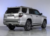 Armored Toyota 4Runner Rear View