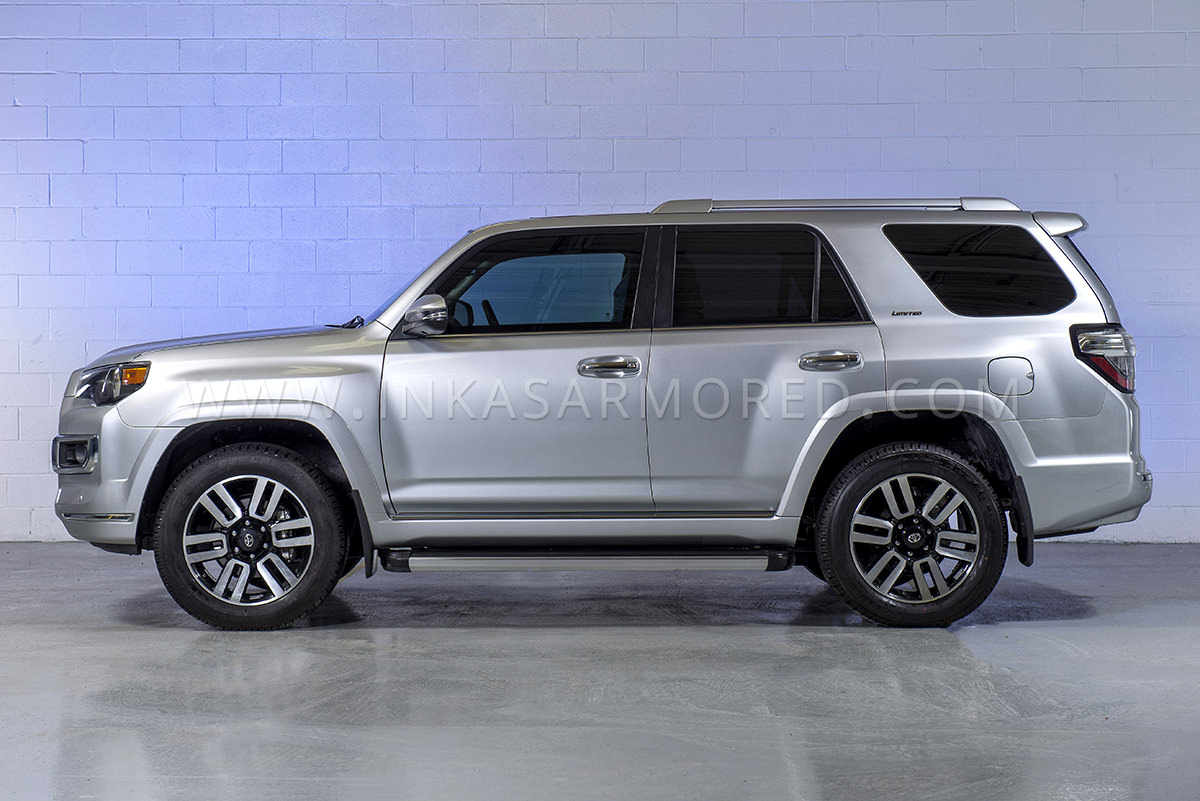 Armored Toyota 4runner For Sale Inkas Armored Vehicles