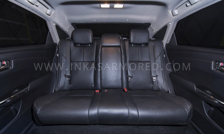 Armored Toyota Avalon Rear Seats