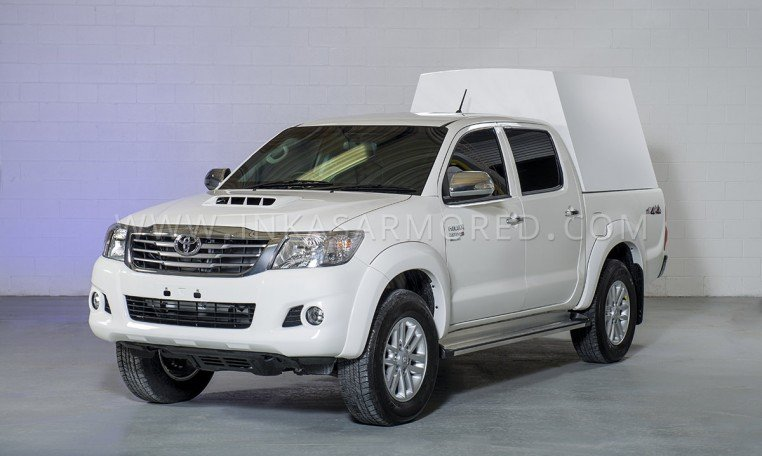 Armored Toyota Hilux Cash In Transit
