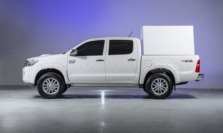 Armored Toyota Hilux Cash In Transit Vehicle