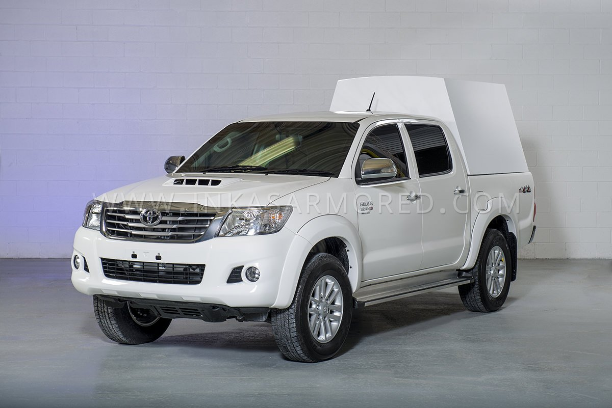 Toyota Hilux Cash In Transit Vehicle For Sale Inkas Armored