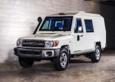 Armored Toyota Land Cruiser 79 CIT Vehicle
