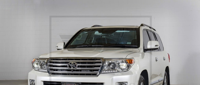 Armored Toyota Land Cruiser GXR
