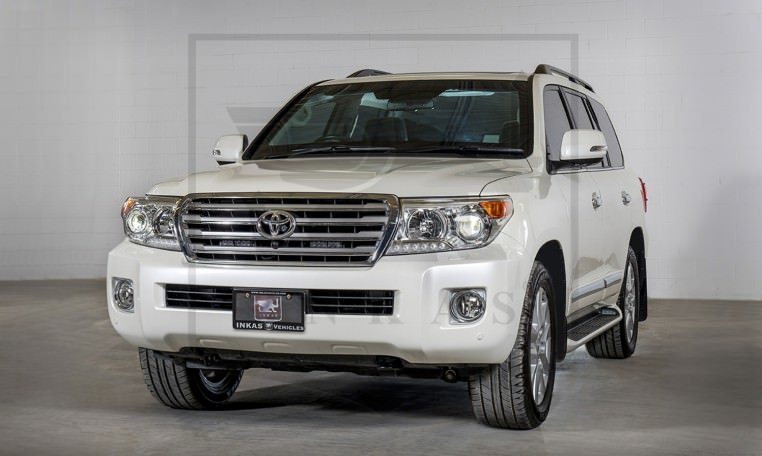 Armored Toyota Land Cruiser GXR