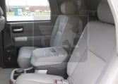 Armored Toyota Sequoia Rear Seats