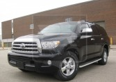 Armored Toyota Sequoia