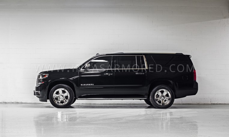 Armoured Chevrolet Suburban SUV