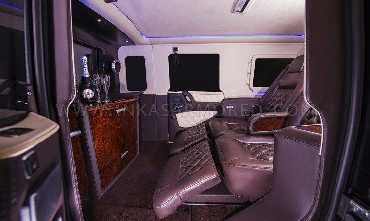 Armoured G63 Captain Seats