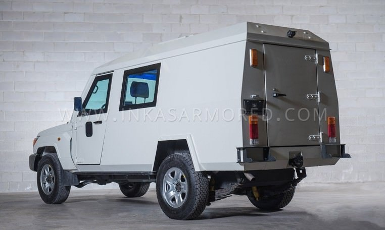 Armoured Toyota Land Cruiser 79 CIT Truck